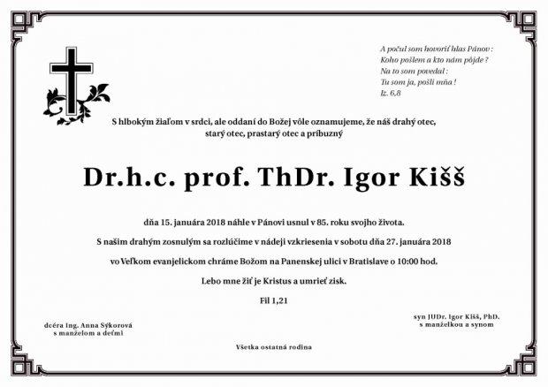 Igor Kišš parte