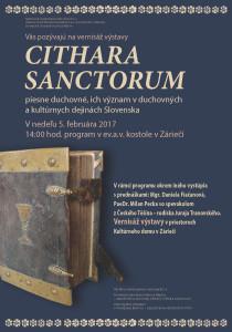 plagat citara sanctorum